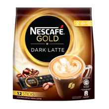 NESCAFE Gold Dark Latte 12 Sticks 34g x2 packs