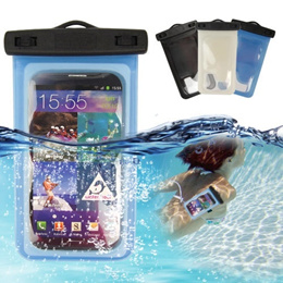 IPx8 Waterproof Armband Pouch Case Dry Bag For Samsung Galaxy Mega 6.3 i9200