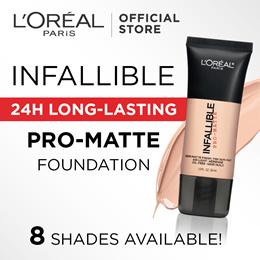 Infallible Pro Matte Foundation - 8 Shades