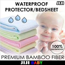 ★BAMBOO FIBER ★WATERPROOF BEDSHEET ★MATTRESS PROTECTOR ★PREVENTS BEDBUGS ★WASHABLE