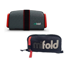 Original MIFOLD Grab-and-Go Car Booster Seat  mi fold Portable Car Seat carry bag Booster