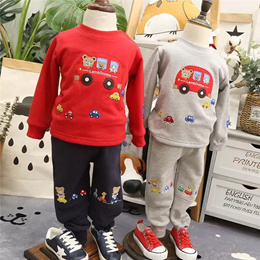 On sale! Mikihouse girls playing with boys spring sweater shirt cotton by the end of spring of 2016