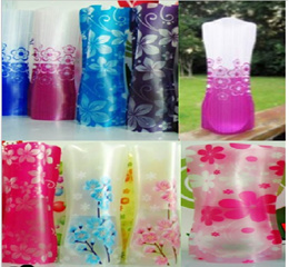 Big sale!!! Foldable flower vase with various colours/design for home/office decoration.