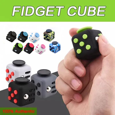 fast delivery purchase cheap good Qoo10 - Hot Sale!Fidget Cube Children Desk Toy Adults Stress ...