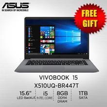 ASUS VivoBook 15 X510UQ-BR447T /i5-7200U  /8GB DDR4 /  1TB 5400RPM/ 1 Year Warranty