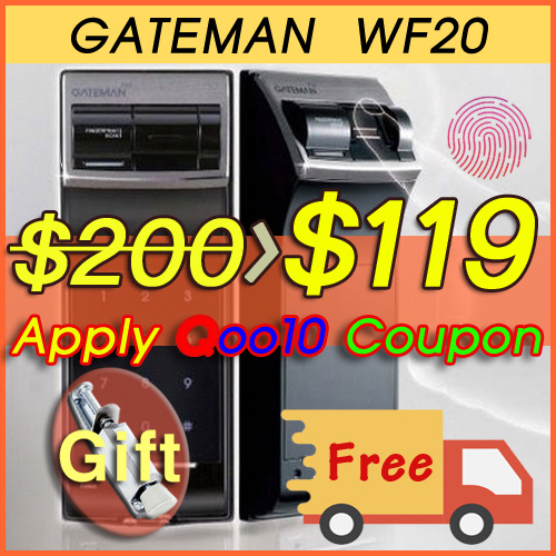 Gateman WF20 / You can choose Language / Installation Service / Lowest Price in the World Deals for only S$230 instead of S$0