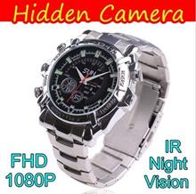 Spy Watch Mini HD Camera 12MP Camcorder DVR Full HD 1080P with IR Night Vision