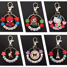 🌈 [Free Shipping over $50] ⭐️ **CLEARANCE SALES -Personalised Keychain with Charm