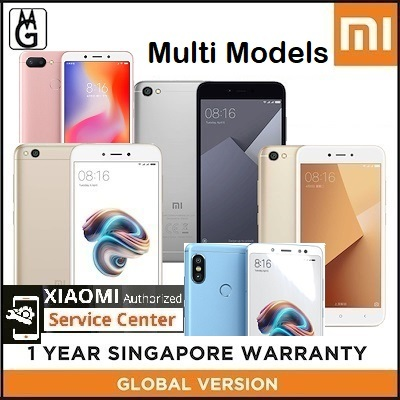 Xiaomi Redmi 6A Note 5 5 Plus S2 Note 5A Prime A1 (Multi Models) Global  Rom  1 Year Warranty
