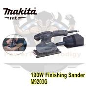 MAKITA MT SERIES M9203G FINSHING SANDER / 190W FINISHING SANDER / 6 MONTHS WARRANTY