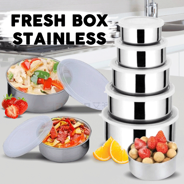 Protect Fresh Box Rantang 5 susun tutup plastik SH0001 Deals for only Rp36.000 instead of Rp36.000