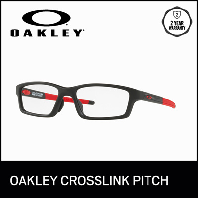 ff46366551c Oakley Optical Eyeglasses Crosslink Pitch (A) OX8041 - Satin Black (804109)  -