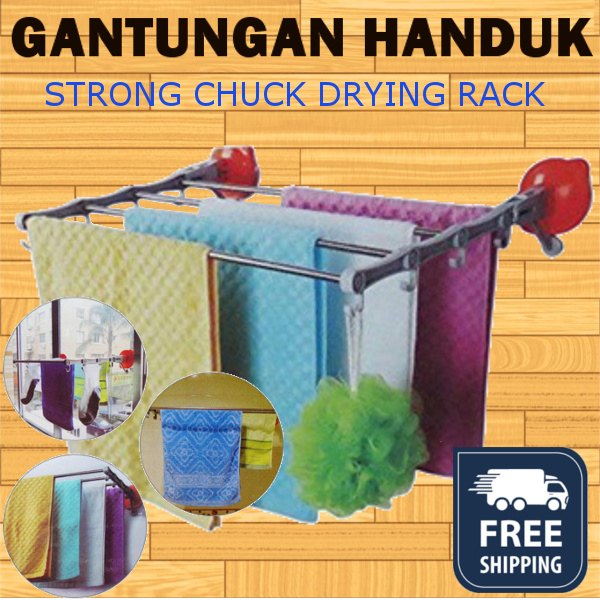 ( FREE SHIPPING ONLY JKT ) STRONG CHUCK DRYING RACK Deals for only Rp230.000 instead of Rp230.000