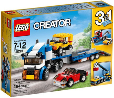 Qoo10 Lego Creator 31033 Vehicle Transporter Set New In Box Sealed