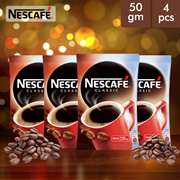 (Pack of 4) Nescafe Classic Instant Coffee (50gm Each)