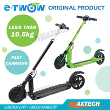★ Etwow Latest 2nd Generation★  Etwow E2 Electric Kick Scooter Lightweight Slim E-scooters