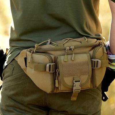 Outdoor Sport Wallet Belt Bag Men Waist Pack Pouch Military Hiking Chest Bag