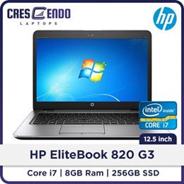 Refurbished HP Elitebook 820 G3 Laptop Intel Core i7 6th Gen/ 8GB RAM/ 256 GB SSD/  Windows 8