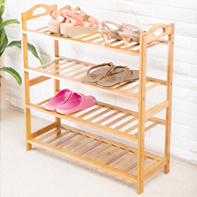 Bamboo/Wooden Shoes Rack 3/4/5 Tier/Layer. Shoes Cabinet/Storage / Living Home / Household Product
