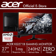 "Acer KG271B 27"" (16:9) Full HD Monitor with 240Hz Refresh Rate and 1ms High Response time (FreeSync)"