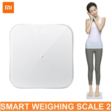 Xiaomi Smart Digital Weighing Scale 2 Bathroom Scale BMI Bluetooth 5.0 APP Gym Sports Slim Weight