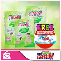 [FREE GOON Wipes!!]★GOON★ GOO.N Cheerful Baby Pants x 3packs