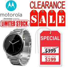 Motorola|Moto 360 2nd Genuine 42mm Silver + Silver Metal|1 year local warranty