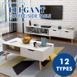 【COFFEE TABLE】★COFFEE DESK★WOOD ★SIDE TABLE ★DINING TABLE ★ELEGANT ★FURNITURE ★OAK ★COMFORT ★STORAGE