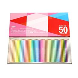 홀베인 색연필 파스텔톤 세트 50색 20936