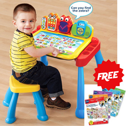 Vtech TOUCH AND LEARN ACTIVITY DESK DELUXE / Educational Toys / 2 -5 years old
