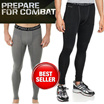 NEW!! PRO COMBAT CORE COMPRESSION TIGHT LONG -  SPORTS TRAINING FITNESS GYM CYCLING WEAR