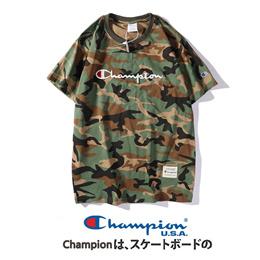 Super Fire champion T-shirt woman loose Yu Wenle cursive c top bottom shirt couple insf tide brand c