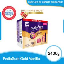 [Singapore Trust] Abbott PediaSure Vanilla 2.4 kg 600g x 4