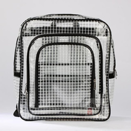 PVC transparent grid grid transparent anti-static dust-dust-proof Cleanroom notebook bag tool bag-ma