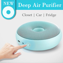 Deep Air Purifier | USB Rechargeable Portable | Room Air Purifier | Portable Air Freshener Ionizer