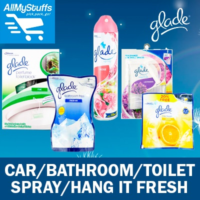 【Glade】Toilet Block○Car/Bathroom Fresh○One For All○Air
