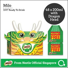 [NESTLÉ®] MILO® UHT 48x200ml *LIMITED EDITION DRAGON HEAD!*