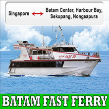 ALL IN! RETURN BATAM FERRY TICKET WITH ALL TAXES INCLUDED!!!