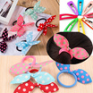 【Fast Shipping+ Ready Stock】 Korean Hair Goods Sweet Colourful Hair Clip Ribbon Clover Bunny Hairband