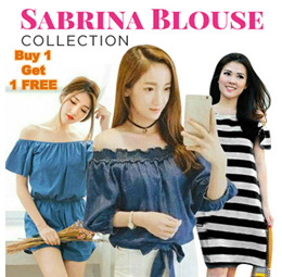 HL - Buy 1 Get 1 Free Ladies Sabrina Blouse Collection