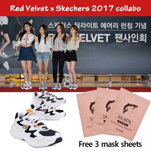 ★JUST NEW ARRIVAL ★ FREE GIFT / Skechers X Red Velvet / D Lites Airy / Casual shoes