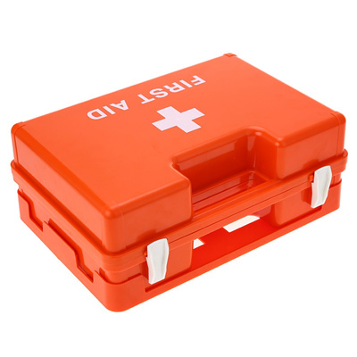 Carevas Lockable First Aid Medicine Storage Box Case Wall Mount Plastic  Family Emergency Kit Contain