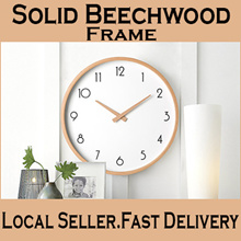 ★Local Seller★Designer Silent Wall Clock★ Minimalist / Modern / Classic / Silent Movement / Nordic