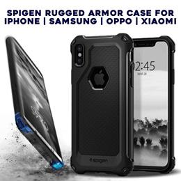 Spigen Rugged Armor Extra Case for Iphone | Samsung | Oppo | Xiaomi