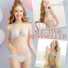 Young Hearts All-time best seller bra collection 👙 43 designs from wireless to wired 🌈