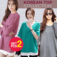 [Buy 1 Get 2 ▶▶ PROMO Ramadhan ▶▶]  KOREA STYLE ★ EASY TOP COLLECTION