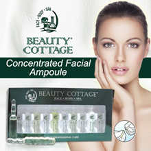 BUY 6 FREE 1! Beauty Cottage Concentrated Facial Ampoule Bridal Makeup Eyes ampoule (4ml*10vials)