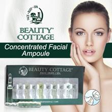BUY 6 FREE 1! Beauty Cottage Concentrated Facial Ampoule Bridal Makeup Eyes ampoule (4ml*10vials)