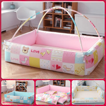 korea bumper foldable bed Baby playmat / cushioned / carpet play mat/ couch/ mattress