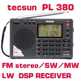 Tecsun PL-380 PL380 radio Digital PLL Portable Radio FM Stereo/LW/SW/MW DSP Receiver